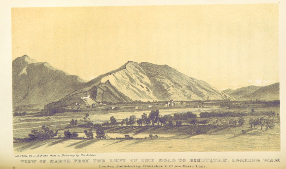 View of Kabul by Charles Masson