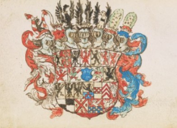Coat of arms of George William Margrave.
