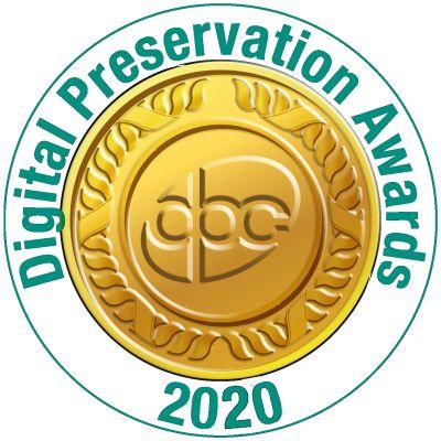 2020 Digital Preservation Awards logo