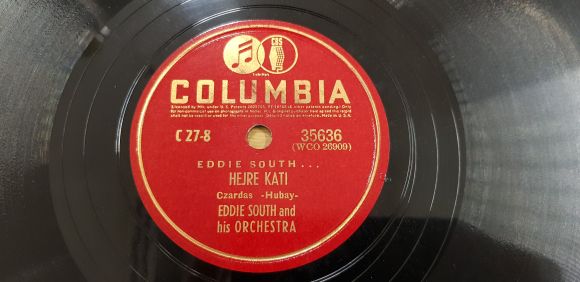Disc label Columbia 35636