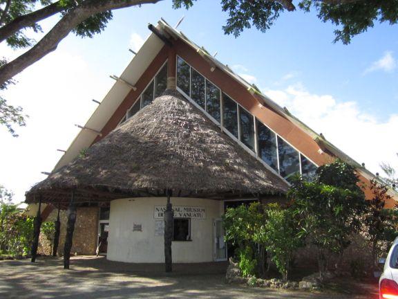 The Vanuatu Kaljoral Senta building