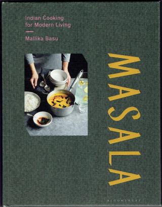 "Cover of book by Mallika Basu called ""Masala"""