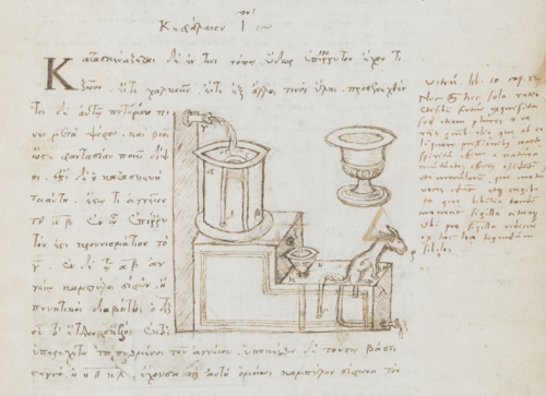 An annotated manuscript of Hero's Pneumatics
