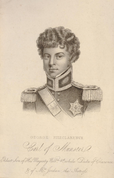 Anonymous portrait of the young George FitzClarence  Earl of Munster  c. 1810-20 (1918 0107.70)