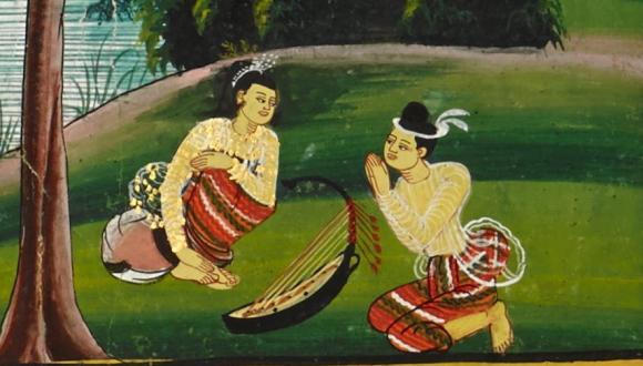 Harp 2 - picture 3 Sussondi Jātaka 3