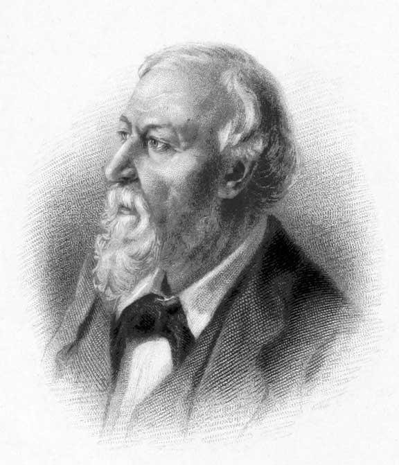 Portrait of Robert Browning