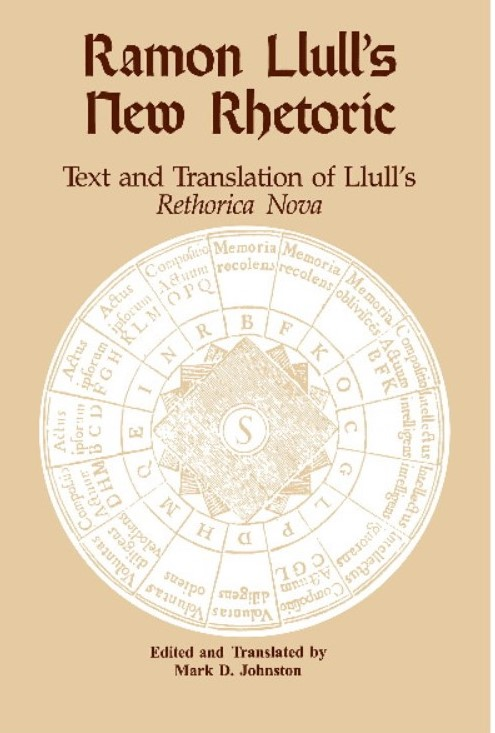Cover of Ramon Llull's New Rhetoric