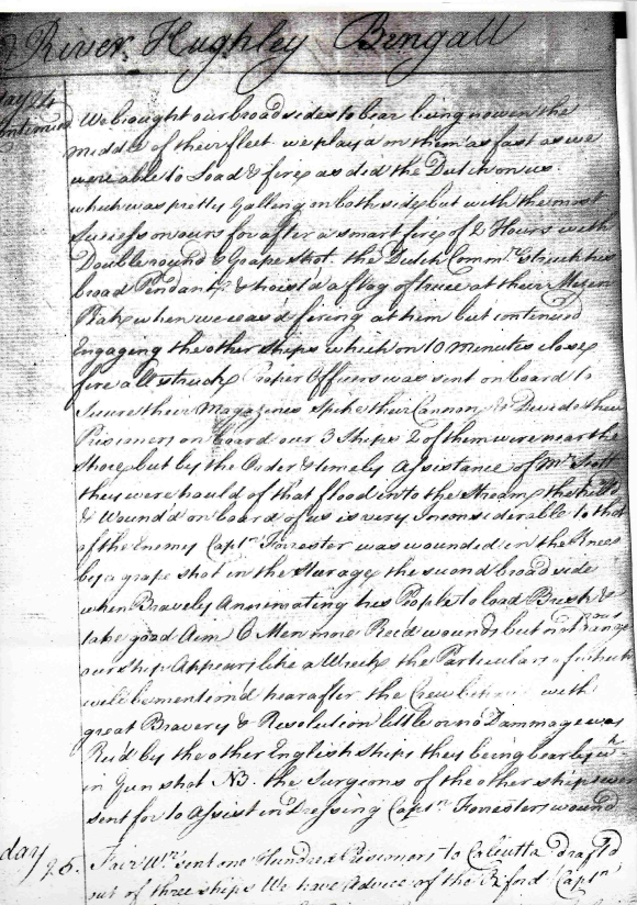 Duke of Dorset journal