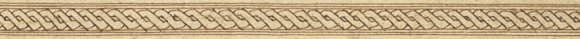 Plaited rope borders from decorated frames in two Qur'an manuscripts from Aceh