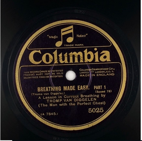 Colombia disc label