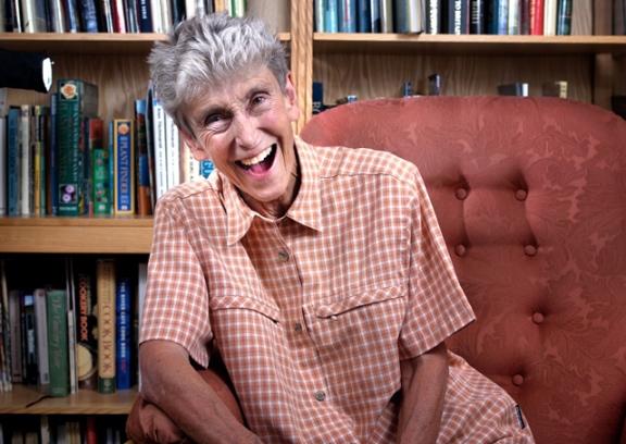Portrait of Pam Turner by Bill Knight