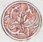 Illuminated marginal medallion indicating the start of a new juz'-EAP1020-5-1.78-juz-a
