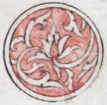 Illuminated marginal medallion indicating the start of a new juz'-EAP1020-5-1.78-juz-a