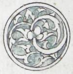 Illuminated marginal medallion indicating the start of a new juz'-EAP1020-5-1.98-juz-b