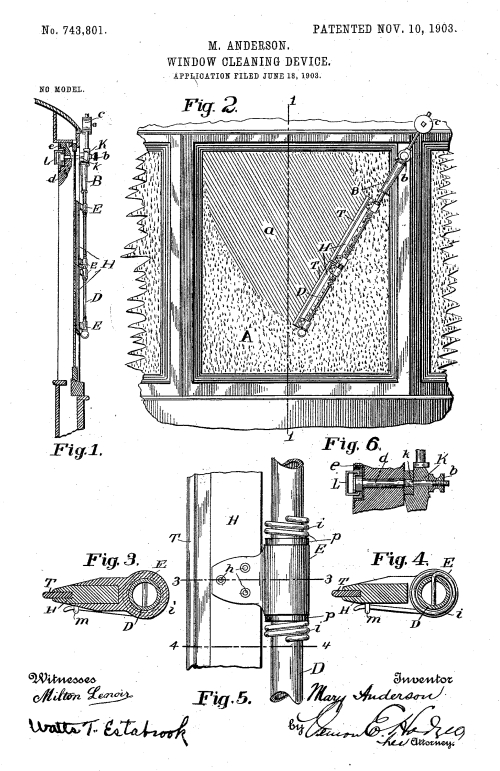 Window Cleaning Device patent