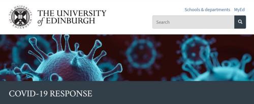 Edinburgh Uni C19 response