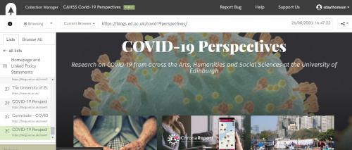 Conifer CAHSS blog