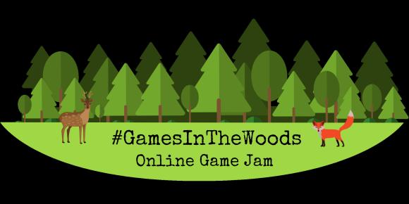 Games in the Woods online games jam logo