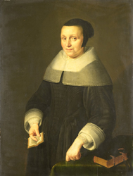 Portrait of a woman presumed to be Elselina van Houwingen