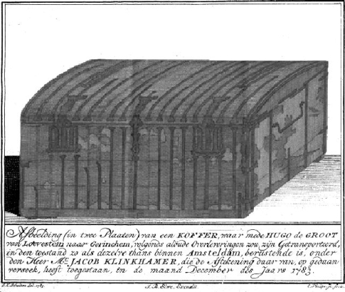 Image of Grotius's book chest