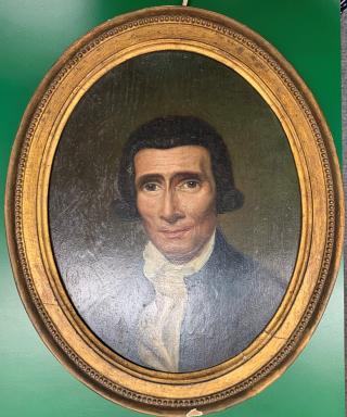 Portrait of Charles Weston