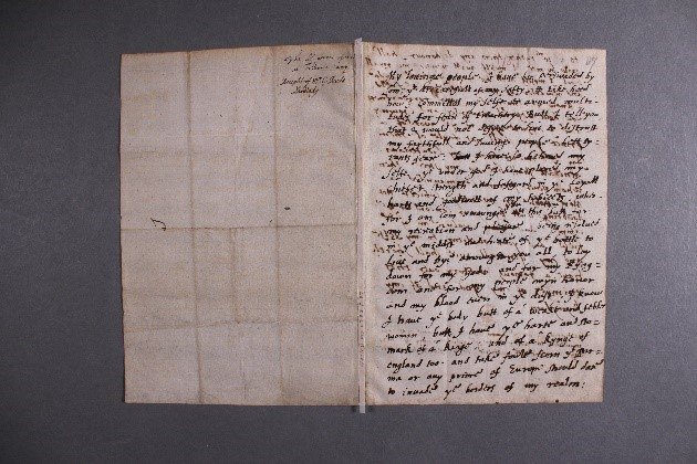 The Tilbury Speech (before conservation)