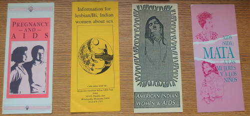 AIDS women's pamphlets