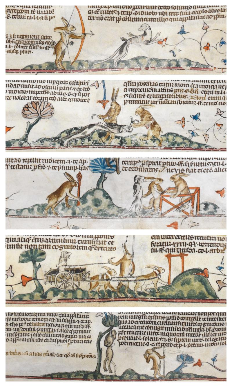 Smithfield Decretals Collage 2