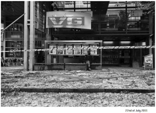 Newspaper Display Panel 22 July