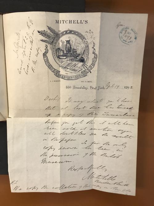 2_Tamerlane showing letter