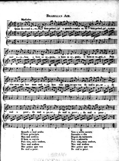 A page of musical notation and lyrics.