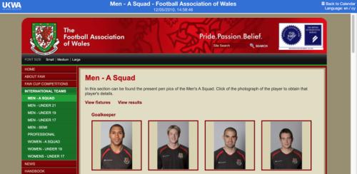 Welsh FA website
