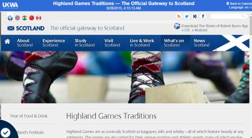 Highlandgametraditions