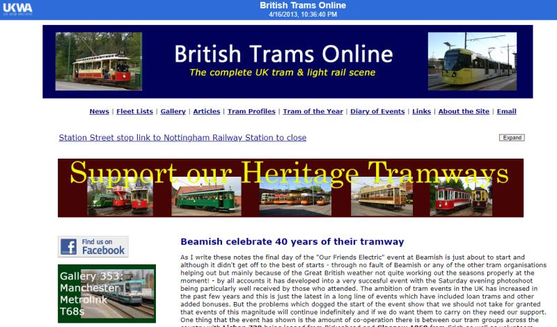 British-trams-online