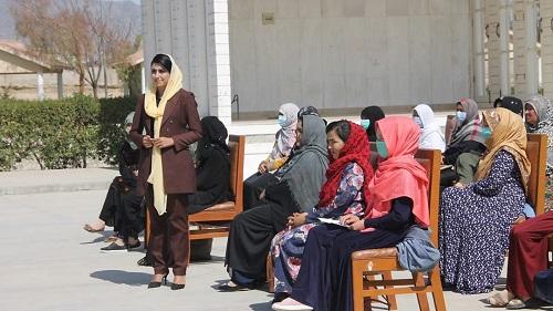 Shazia presenting