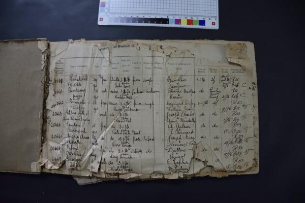 EAP63/1/2/9 - Burial register