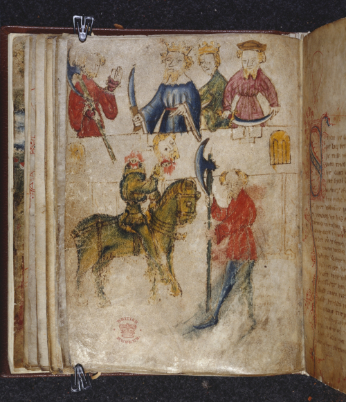Illustrations from Sir Gawain and the Green Knight