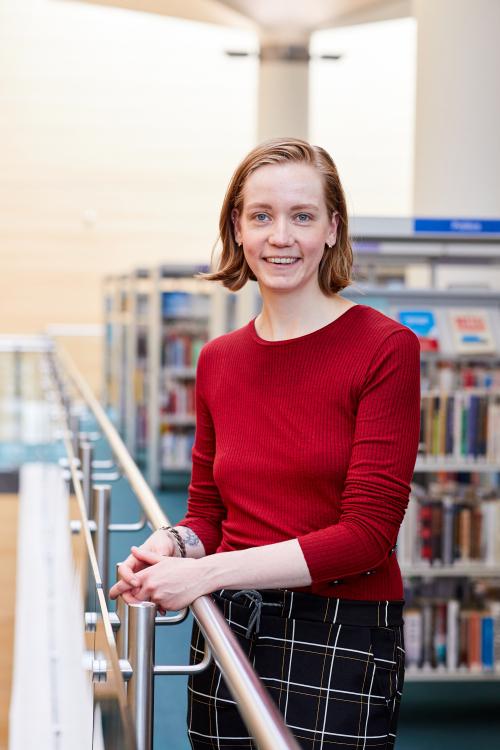 Roxy van der Post, founder of Myosotis Film & Photography at Jubilee Library