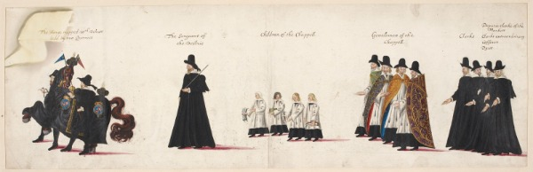 Funeral procession image