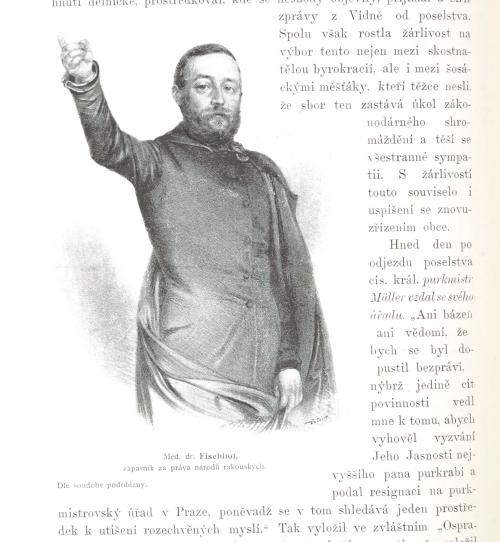 Portrait of Adolf Fischhof