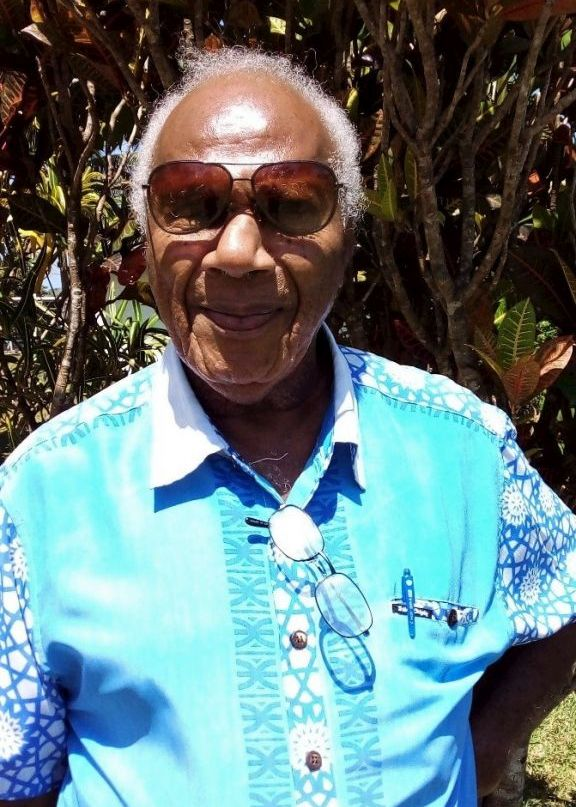 Ambong Thompson, Manager of National Film, Sound and Photo Unit at Vanuatu Cultural Centre