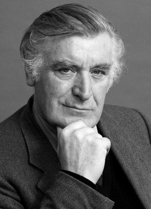 Photograph of Ted Hughes © Copyright Caroline Forbes.