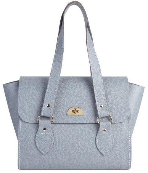 The Emily Tote in French Grey
