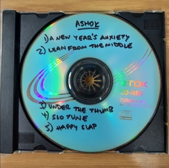 Demo CD submitted by Ashok