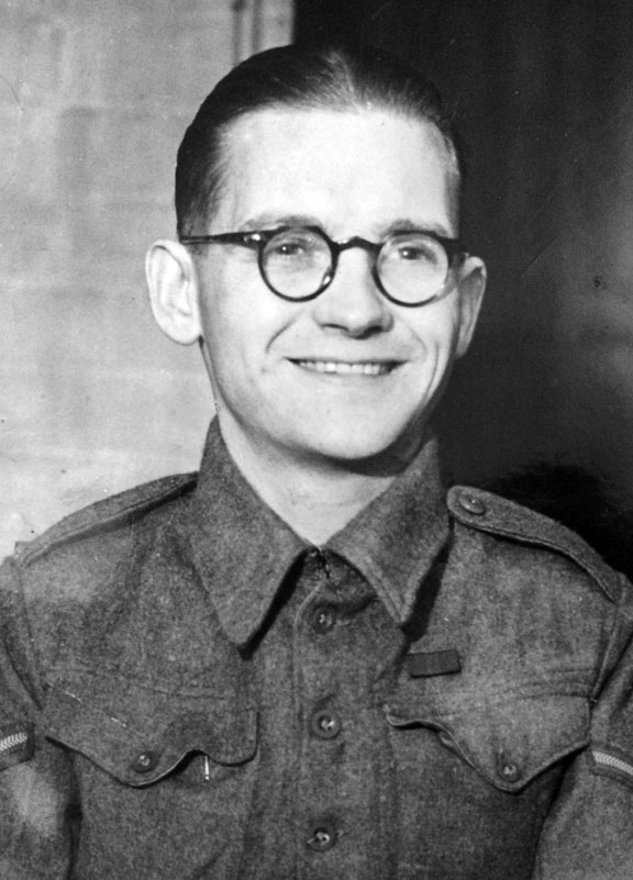 James Howe in London  November 1943