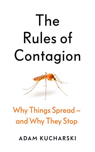 Front jacket for The Rules of Contagion by Adam Kucharski