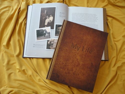 Autodotbiography hardcover book