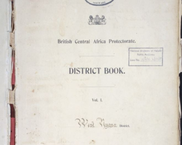 Cover page of a District Notebook