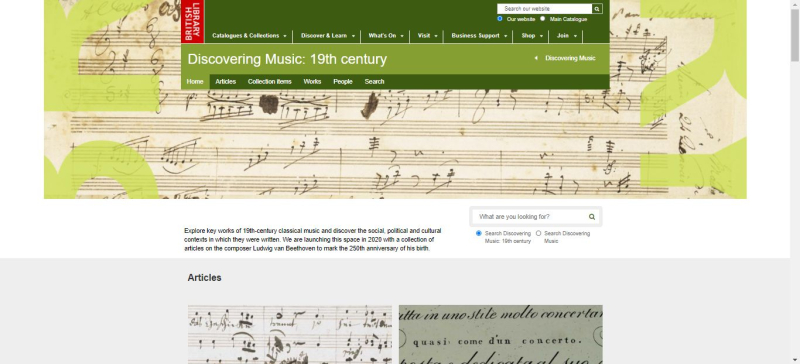 Discovering Music 19th century