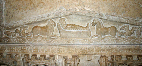 Nativity scene on the Sarcophagus of Stilicho in Milan